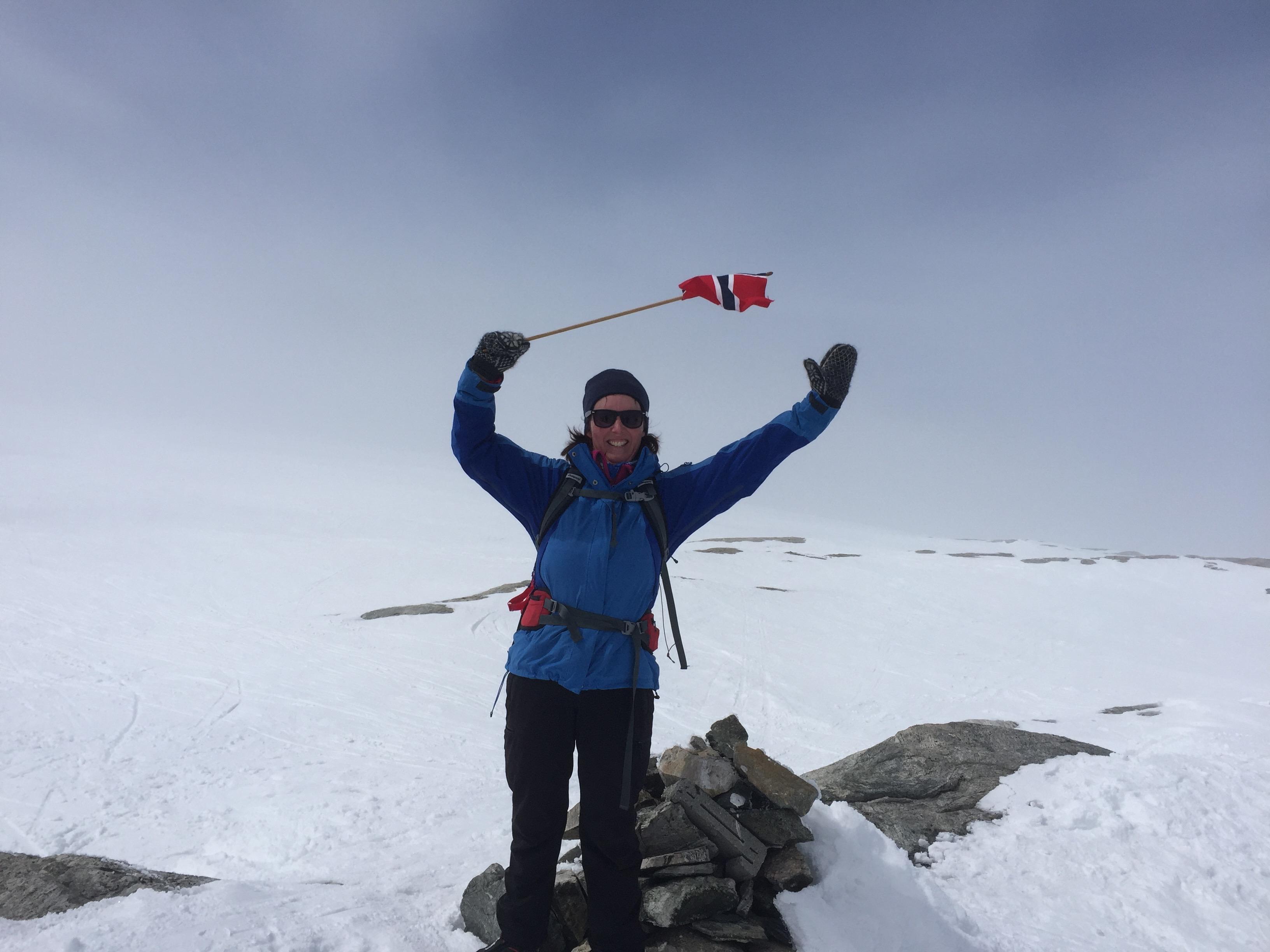 Hardangerjøkulen, høgaste toppen i Hordaland :)